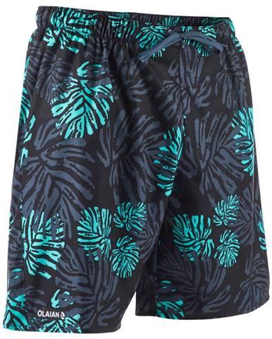 OLAIAN šortky 100 Funkyleaf Zelené