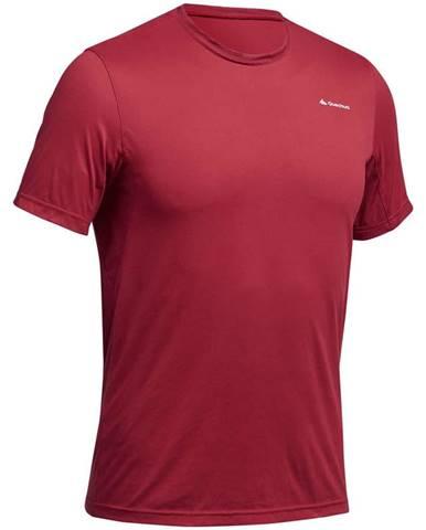 QUECHUA Pánske Tričko Mh100 červené