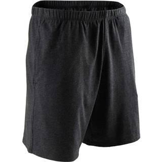 NYAMBA Pánske šortky 100 Na Cvičenie