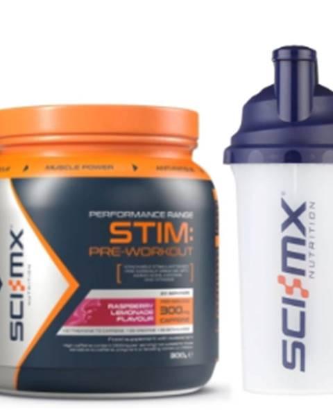 Sci-MX Nutrition Sci-MX Nutrition Sci-MX Stim Pre-Workout 300 g variant: malinová limonáda
