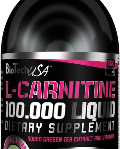 BioTech USA BioTech L-Carnitine Liquid 100000 500 ml variant: jablko