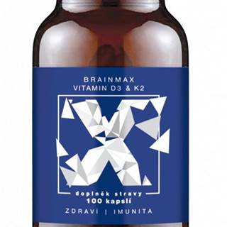BrainMax Vitamin D3 & K2 100 kapsúl