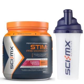 Sci-MX Nutrition Sci-MX Stim Pre-Workout 300 g variant: malinová limonáda