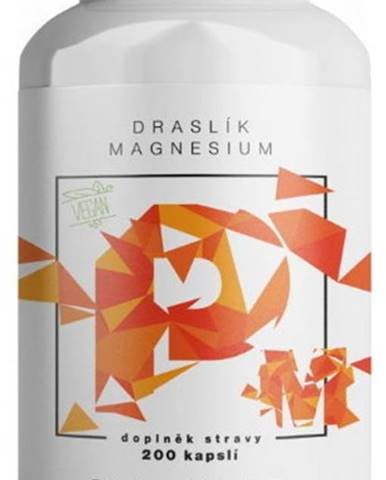 BrainMax Draslík Magnesium , Draslík citrát + Horčík malát 200 kapsúl