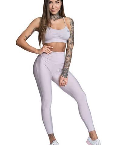 Gym Glamour Legíny High Waist Broken White variant: L