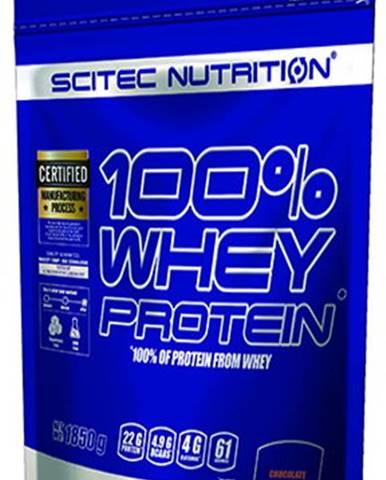Scitec Nutrition Scitec 100 % Whey Protein 1850 g variant: arašidové maslo