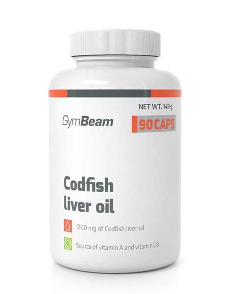 GymBeam Codfish Liver Oil - GymBeam 90 kaps.