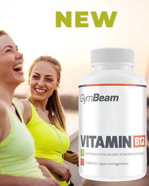 GymBeam Vitamin B12 - GymBeam 90 tbl.