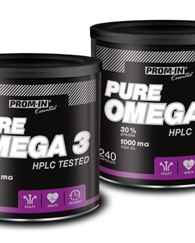 1+1 Zadarmo: Pure Omega 3 - Prom-IN 240 kaps. + 240 kaps.