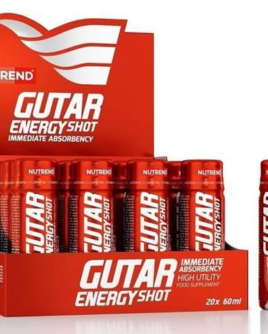 Gutar Energy Shot - Nutrend 20 x 60 ml.