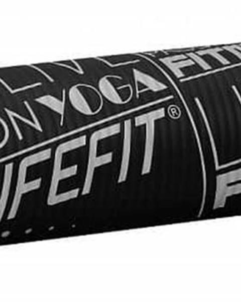 Lifefit Podložka LIFEFIT YOGA MAT EXKLUZIV , 100x58x1cm, černá