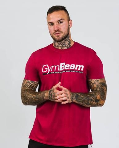 GymBeam Tričko Body and Mind Cardinal Red  S