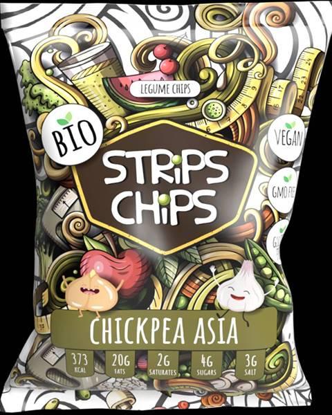 Lomeo YESCHiPS STRiPS ChiPS 90 g ázijský cícer