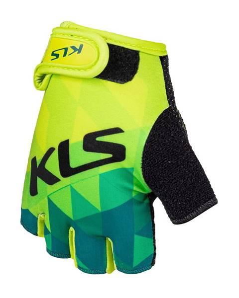 Kellys Cyklo rukavice Kellys Yogi Short limetková - S