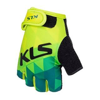 Cyklo rukavice Kellys Yogi Short limetková - S