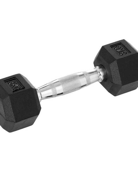 Insportline Šesťhranná činka inSPORTline Hexsteel 20 kg
