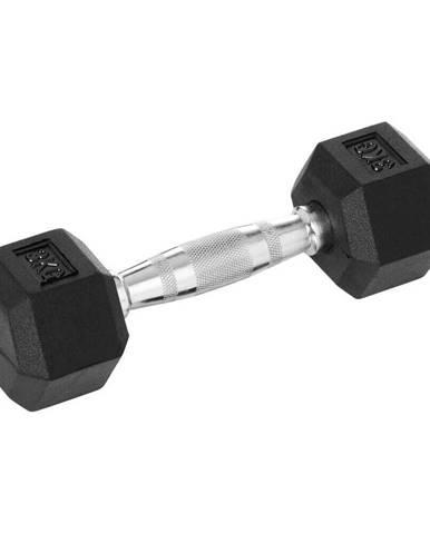 Šesťhranná činka inSPORTline Hexsteel 35 kg