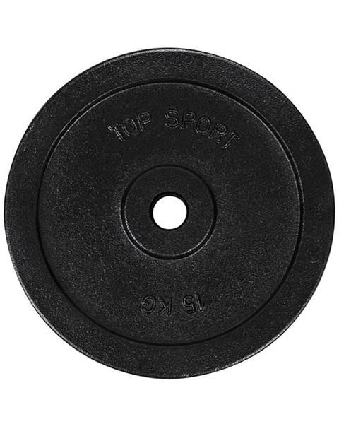 Top Sport Liatinový kotúč Top Sport Castyr 15 kg