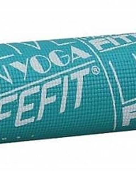 Lifefit Gymnastická podložka LIFEFIT SLIMFIT PLUS, 173x58x0,6cm, tyrkysová