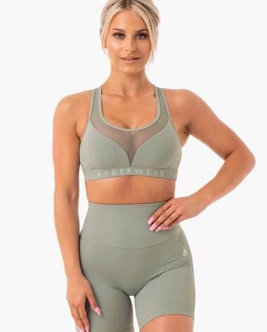 Ryderwear Športová podprsenka Hype Mesh Olive  XS