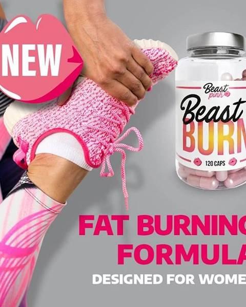 GymBeam Beast Burn - Beast Pink 120 kaps.