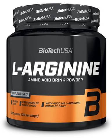 BioTech USA BioTech L-Arginine 300 g variant: bez príchuti