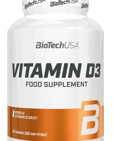 Biotech Vitamín D3 60 tabliet