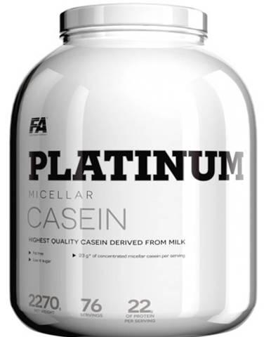Fitness Authority Platinum Micellar Casein 1600 g variant: čokoláda