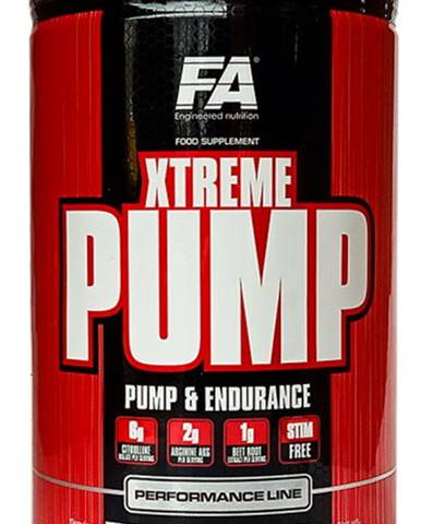 Fitness Authority Xtreme Pump 490 g variant: exotické ovocie