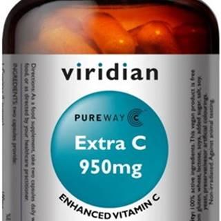 Viridian Extra C (Vitamín C) 950 mg 90 kapsúl