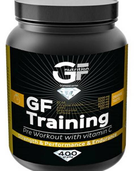 GF Nutrition GF Nutrition GF Training 400 g variant: pomaranč