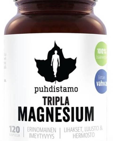 Puhdistamo Puhdistamo Triple Magnesium (Horčík) 120 kapsúl