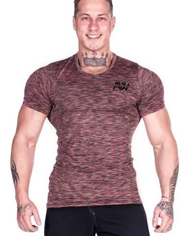 Nebbia Men tričko AW 126 červené variant: M
