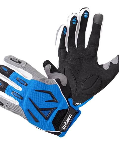 W-Tec Motokrosové rukavice W-TEC Atmello modrá - S