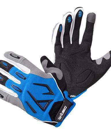 Motokrosové rukavice W-TEC Atmello modrá - S