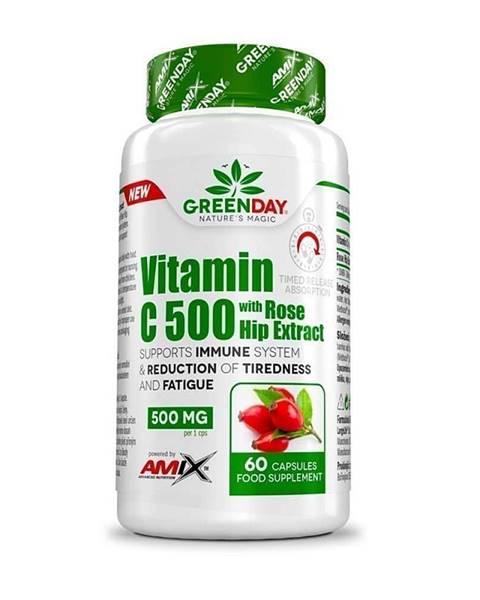 Amix Nutrition Amix Vitamin C 500 s extraktem z šípků