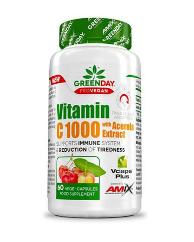 Amix ProVegan Vitamin C 1000 s extraktem z aceroly