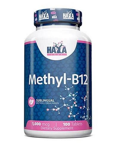 Haya Labs Methyl Vitamin B12 200mcg Hmotnost: 100 kapslí