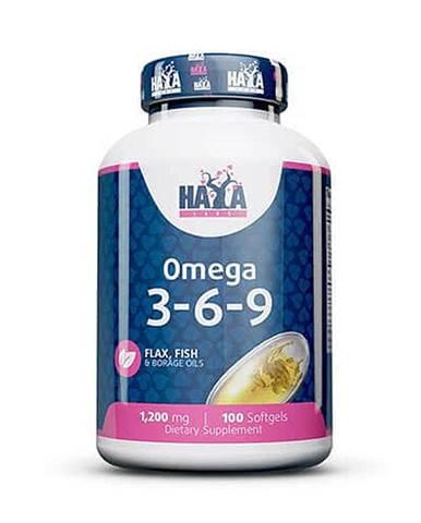 Haya Labs Omega 3-6-9 Hmotnost: 100 kapslí