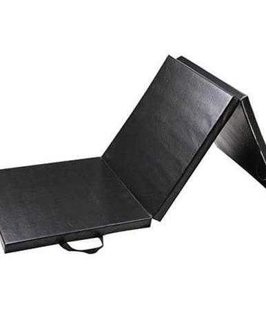 Žíněnka skládací třídílná SEDCO 180x60x5 cm - Černá