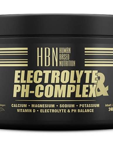 HBN Electrolyte and PH-Complex - Peak Performance 240 kaps.