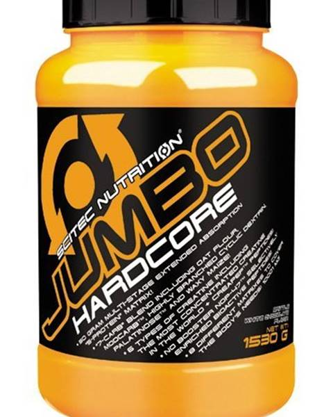 Scitec Nutrition Jumbo Hardcore - Scitec Nutrition 1530 g Banana+Yoghurt