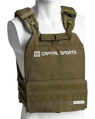 Záťažová vesta Capital Sports Battlevest 2.0 2 x 4 kg - zelená