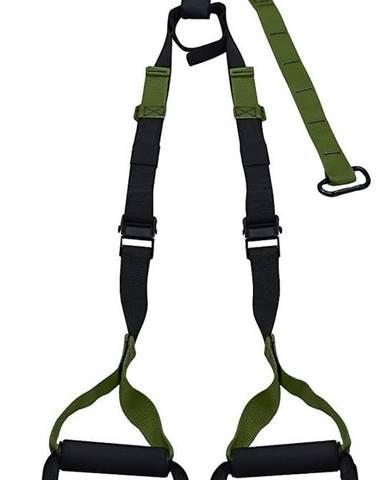 Závěsný posilovací systém LIFEFIT TRAINER nastavitelný, army