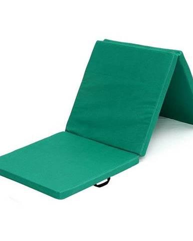 Žíněnka skládací třídílná SEDCO 183x60x4 cm - Zelená
