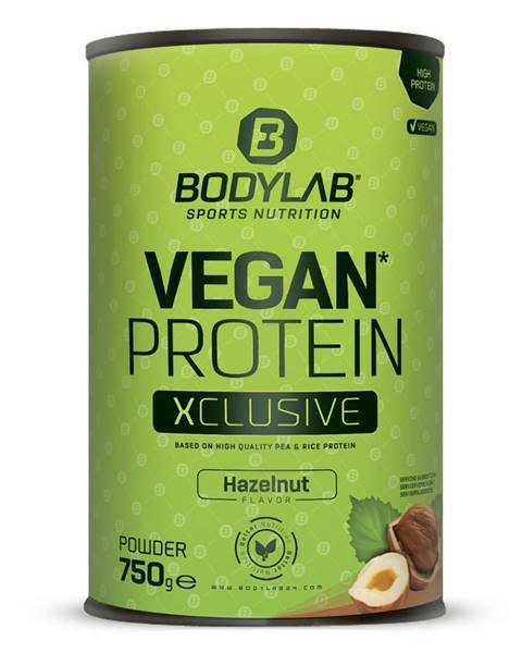 Bodylab24 Bodylab24 Vegan Protein XCLUSIVE Line 750 g čokoláda