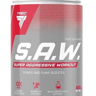S.A.W. Powder - Trec Nutrition 400 g Blackcurrant+Lemon