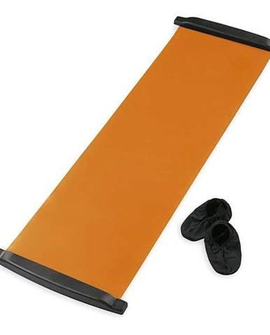 Posilovací podložka SEDCO SLIDE BOARD MAT 170x40 cm - Oranžová