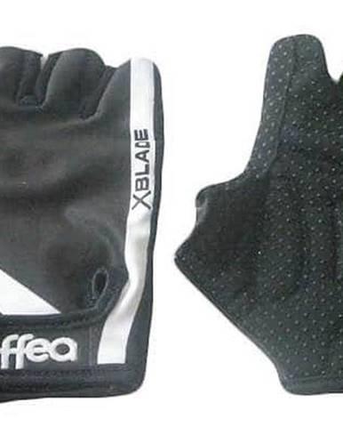 Rukavice cyklo-fitnes 6035 sleva - Černá