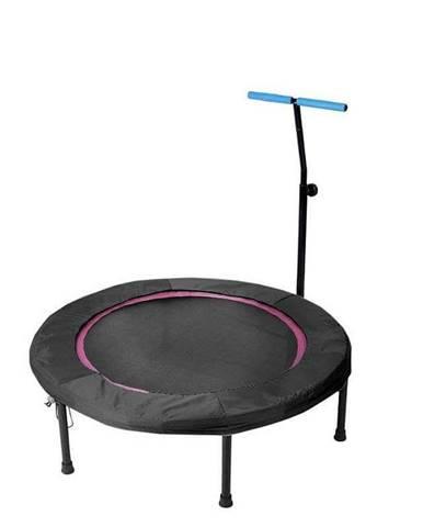 Trampolína SEDCO fitness s madlem kruhová 110 cm - Růžová